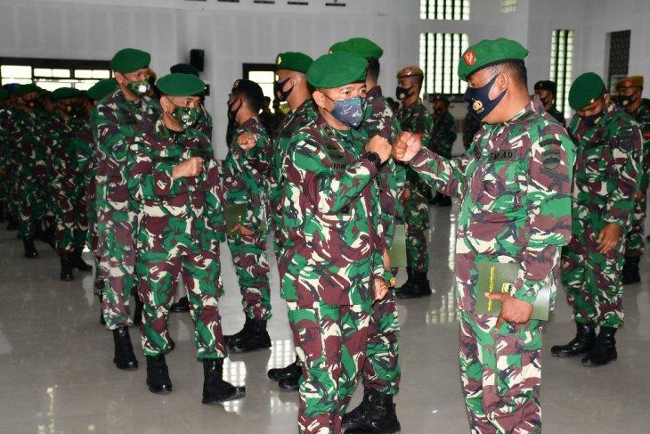 Personel Kodam I/BB di-BKO ke Kodam  XVII/Cenderawasih