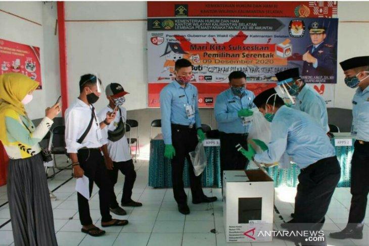 328 pemilih dalam Lapas gunakan hak pilihnya