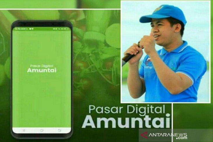 KNPI dan Bank Kalsel Luncurkan Aplikasi Pasar Amuntai