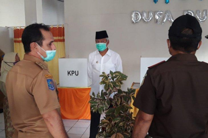KPU rilis hasil pilkada delapan kabupatenkota di Malut