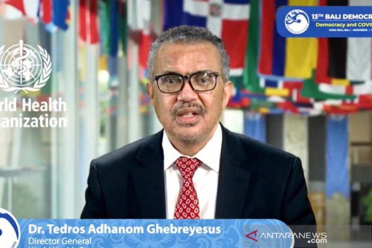 Dirjen WHO nantikan kepemimpinan Indonesia di G20 pada 2022
