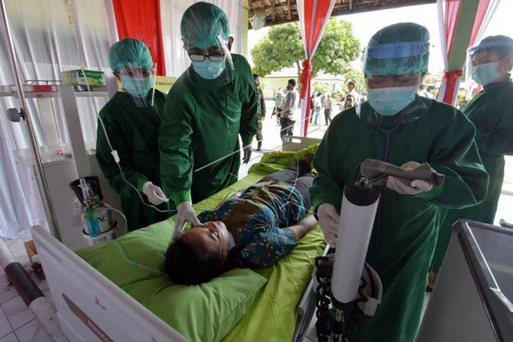 Simulasi vaksinasi COVID-19 di Kodam IX Udayana