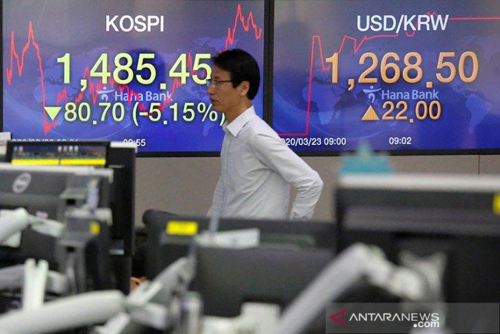Saham Korea Selatan melemah ikuti penurunan di Wall Street
