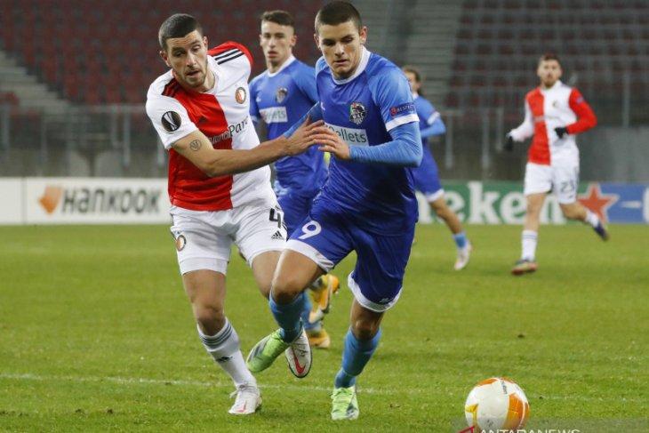 Langkah Feyenoord di Liga Europa terhenti