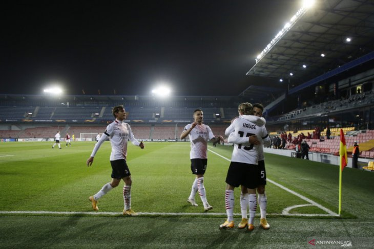 Liga Europa, AC Milan menang 1-0 dari Sparta pada laga pemungkas Grup H