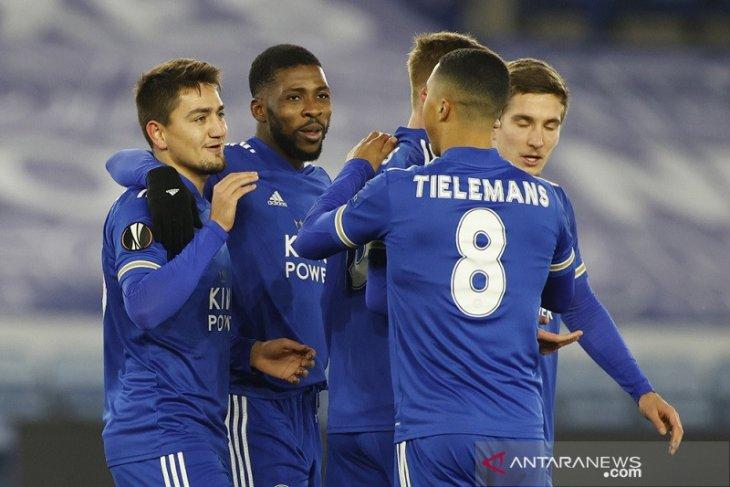 Liga Europa, Leicester dan Braga tutup fase grup dengan kemenangan identik 2-0