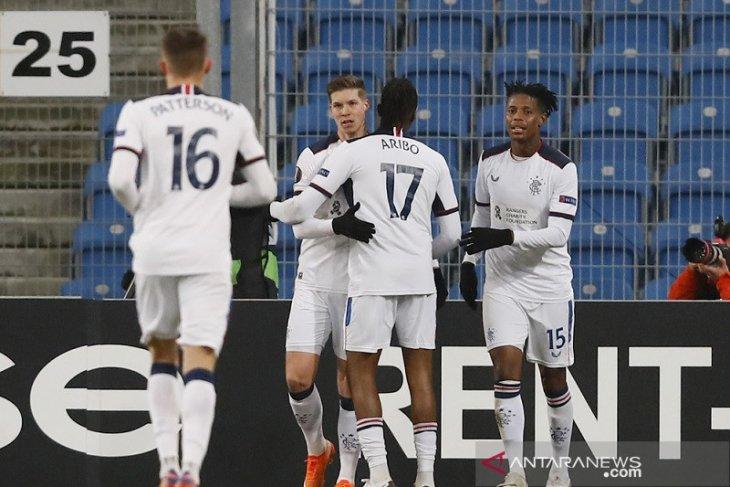 Rangers  puncaki Grup D Liga Europa setelah menangi laga pemungkas