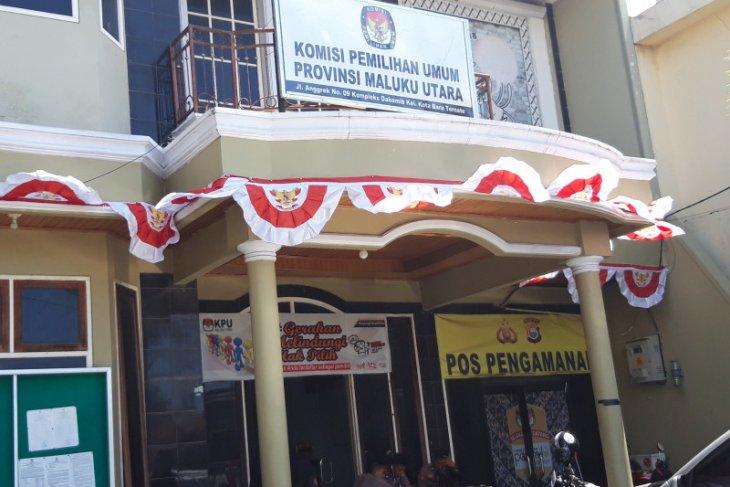 KPU mulai rilis hasil sementara pilkada 2020 di Malut