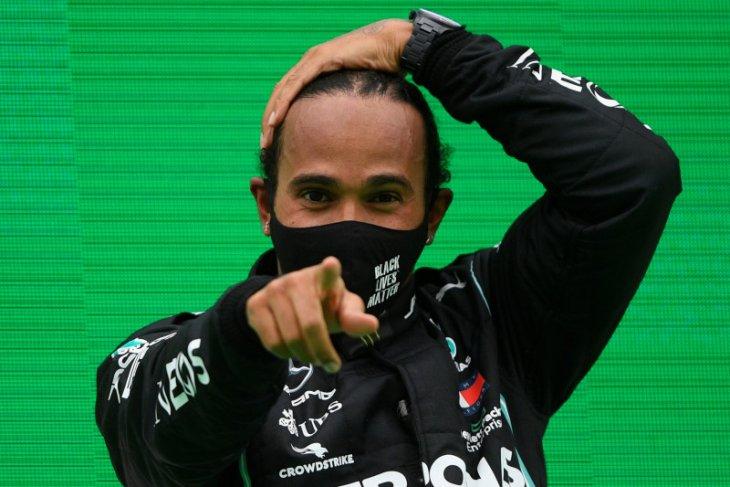 Hasil negatif COVID-19, Hamilton kembali membalap di Abu Dhabi