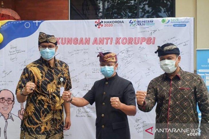 BPJAMSOSTEK Denpasar berkomitmen tolak korupsi