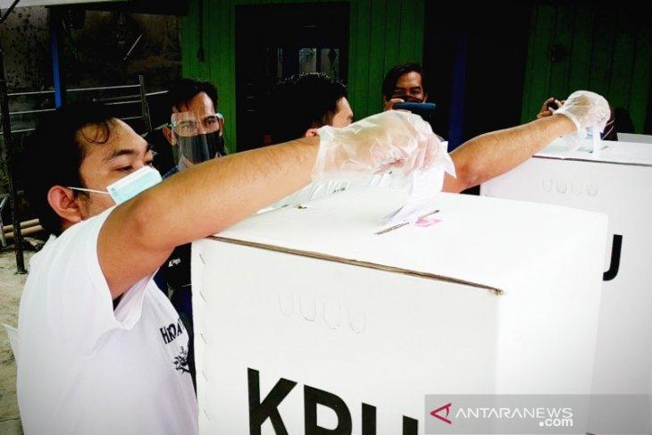 Pemungutan suara ulang TPS 01 Pasar Pagi Putussibau lancar