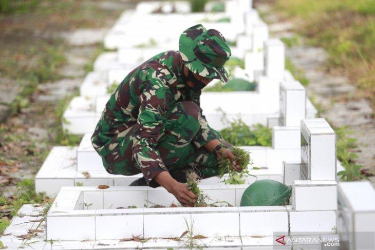 Korem 133 Gorontalo gelar Karya Bakti jelang Hari Juang TNI AD