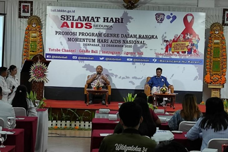 BKKBN Bali: Remaja berperan penting tekan sebaran HIV/AIDS