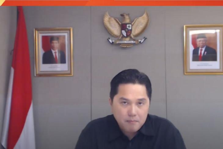 Erick: Kementerian BUMN ditargetkan vaksin mandiri bagi 75 juta orang