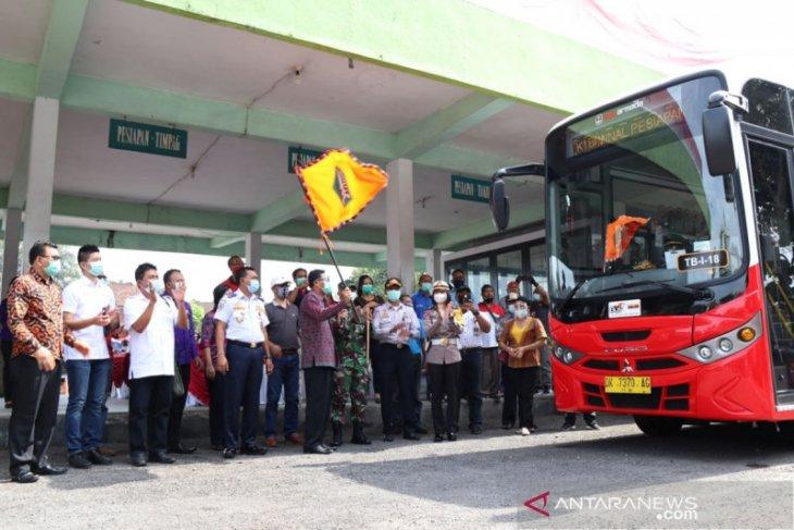 Pemkab Tabanan luncurkan Bus Trans Metro Dewata Koridor I