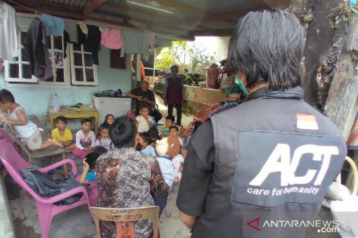 ACT Sumut lakukan penyembuhan trauma anak-anak korban banjir di Medan