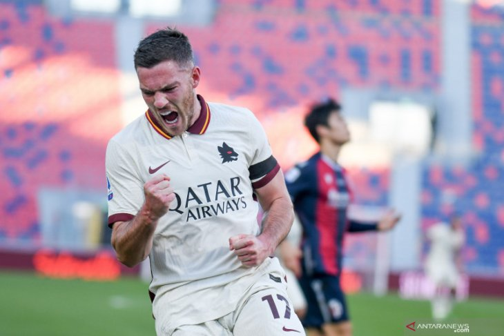Liga Italia: AS Roma menggila saat lucuti tuan rumah Bologna 5-1