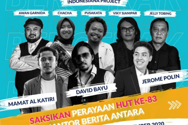 Sejumlah artis meriahkan HUT ke-83 Kantor Berita ANTARA
