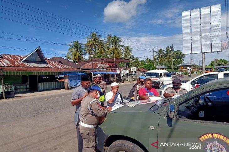 200 pelanggar Prokes di wilayah hukum Polres Tapsel dapat teguran