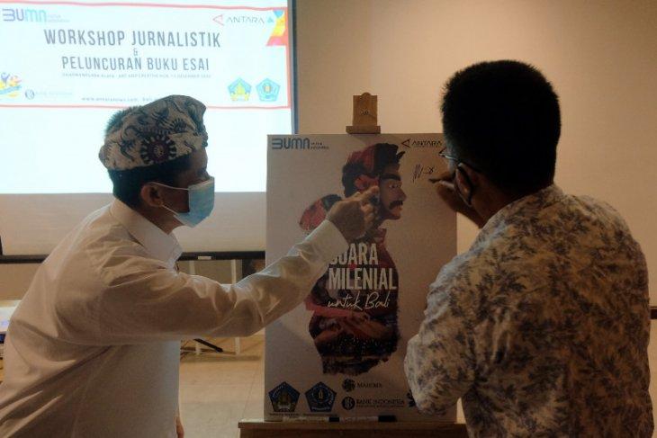 ANTARA Biro Bali luncurkan buku esai peringati HUT ke-83 (video)