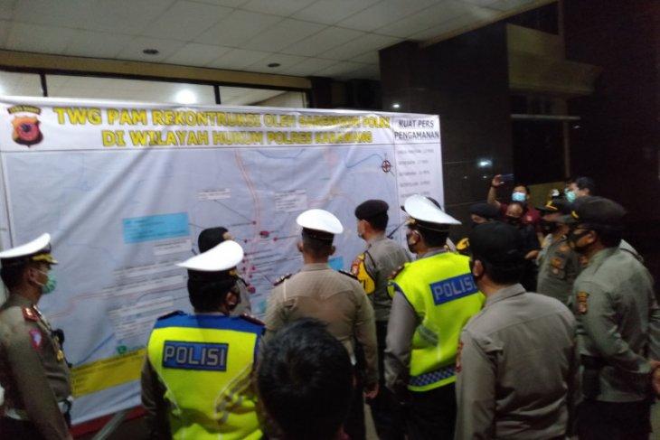 Rekonstruksi penembakan anggota FPI pengawal Rizieq digelar di empat titik