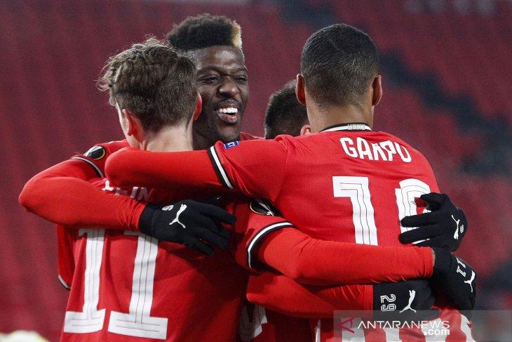 Liga Belanda, PSV naik ke posisi kedua berkat kemenangan atas Utrecht