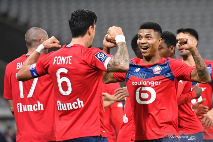 Hasil Liga Prancis pekan ke-15, ketat di empat besar