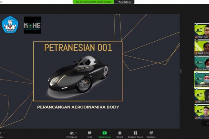 Mobil Petranesian 001 sabet juara 2