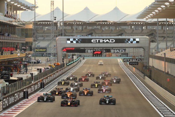 Data mereka yang menang dan kalah di Formula 1 musim 2020