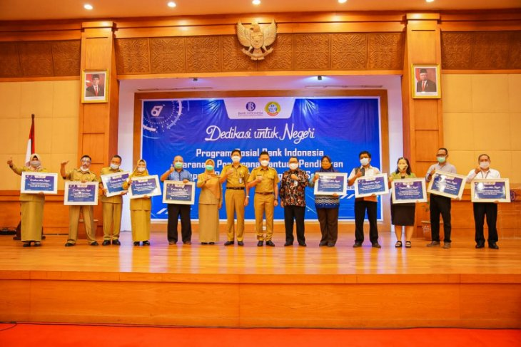 Pemkot Pontianak apresiasi kepedulian Bank Indonesia untuk dunia pendidikan