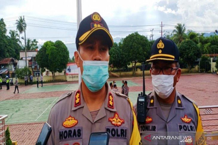 280 personel gabungan disiagakan pada rapat pleno KPU Madina