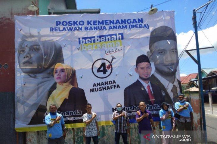 Ananda-Mushaffa tolak hasil rekapitulasi suara Pilkada Banjarmasin