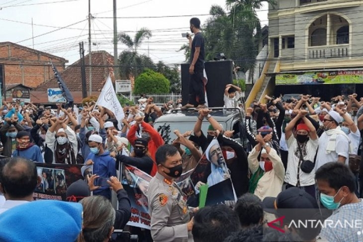 Kapolda bubarkan aksi damai Aliansi Umat Islam