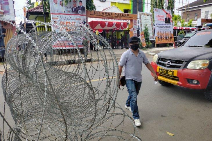 Polres pertebal pengamanan PSU di Manokwari