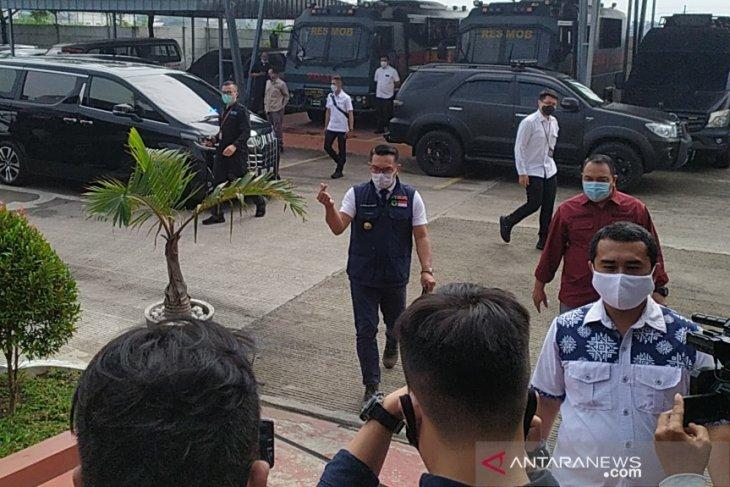Ridwan Kamil penuhi panggilan Polda Jabar terkait Megamendung