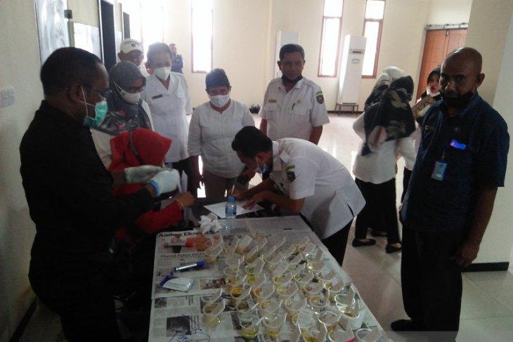 F-PDIP - Hanura  DPRD Maluku apresiasi BNPB lakukan tes urine
