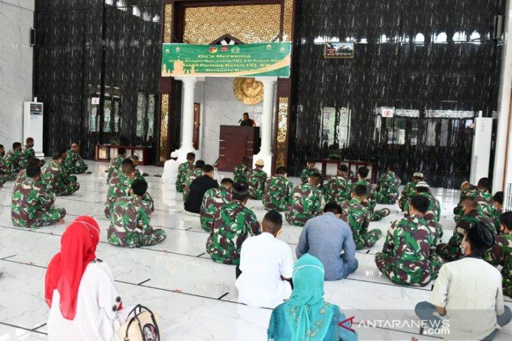 Korem 133 Gorontalo peringati Hari Juang TNI AD dengan doa bersama