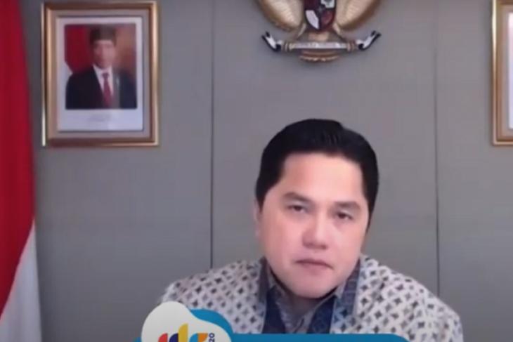 Erick Thohir sebutkan inovasi digital kunci untuk hadapi musuh pandemi