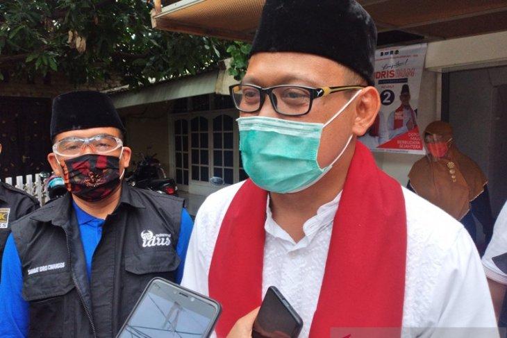 Pilkada Depok, Pradi Supriatna beri ucapan selamat kepada Imam Budi Hartono
