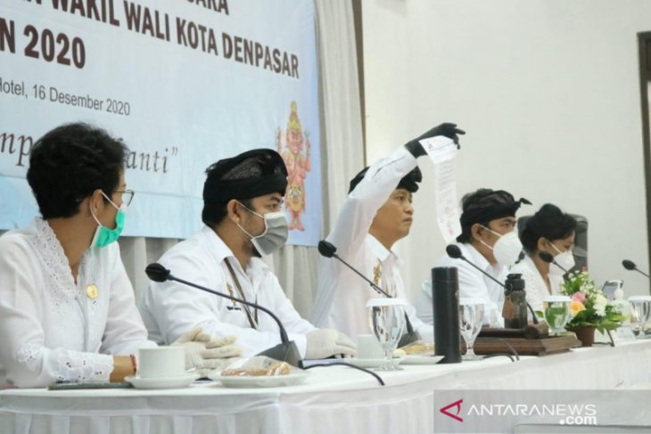 Pasangan Jaya-Wibawa menangi Pilkada 2020 di Denpasar