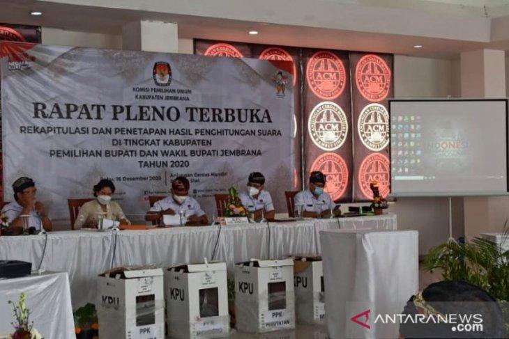 Pemenang Pilkada Jembrana tunggu KPU Pusat