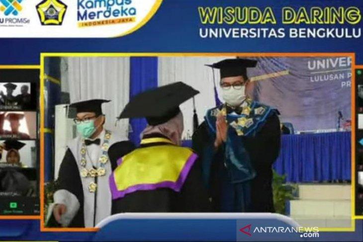 1.413 sarjana dari Universitas Bengkulu ikuti wisuda online