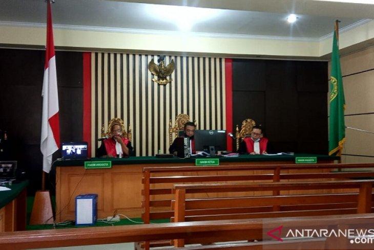 Mantan Plt Kadis PUPR Jambi divionis empat tahun penjara