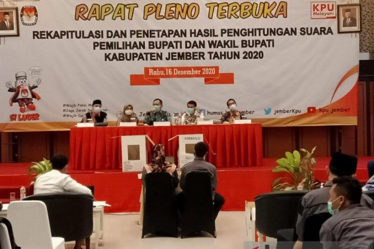 Pilkada Jember: Rekapitulasi suara baru selesaikan 12 kecamatan