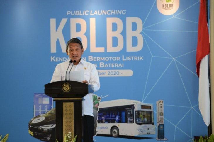 Kementerian ESDM proyeksi 125.000  mobil listrik mengaspal tahun 2021