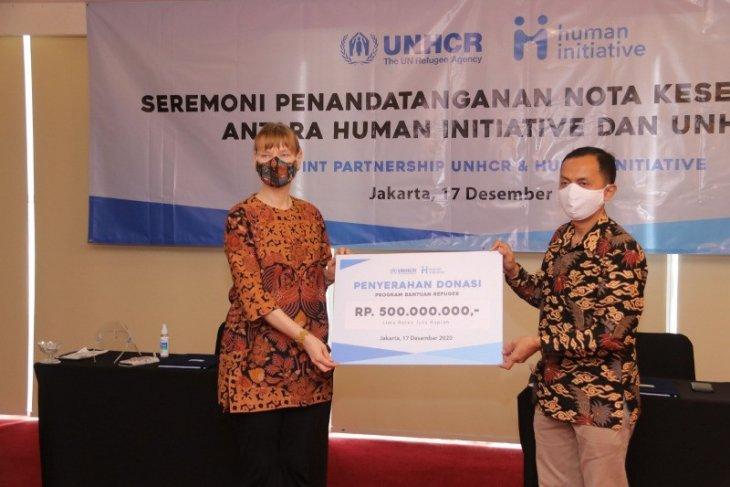 Human Initiative-UNHCR kerja sama kemitraan strategis untuk pengungsi