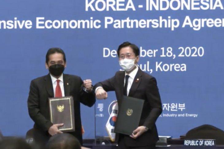 Indonesia, South Korea sign CEPA in Seoul