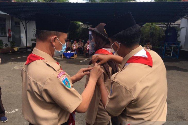 Lanal Banten bina generasi muda melalui Diklat kebaharian Pramuka saka bahari