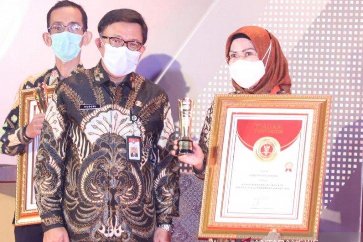 Pemkab Serang Raih Innovative Government Award 2020