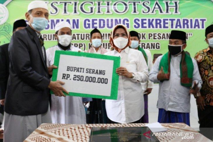 2021 Pemkab Serang berikan hibah bangunan 20 ponpes salafi ...